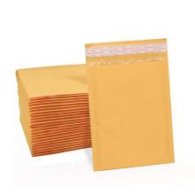 Custom Waterproof Kraft Yellow White Bubble Mailer