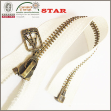 2016 Bronze Metal Zipper for Garments