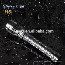 2013 nouveaux produits pour la lanterne de plongée sous-marine cree xm-l t6 led searchlight