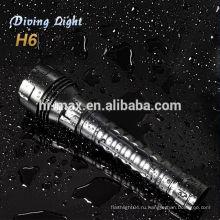 2013 новые продукты для дайвинга подводного фонаря cree xm-l t6 led прожектор