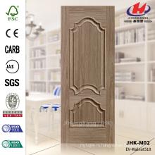 JHK-M02 Модель тисненая раковина Черный орех дверь кожи с хорошим качеством флейта дверной панели