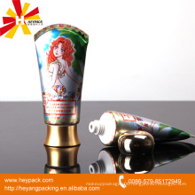 Plastic ABL tube packaging for cosmetic/toothpaste