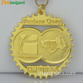 Custom Diecast Medals By Gold Plating