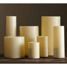 indoor large size flameless LED candle