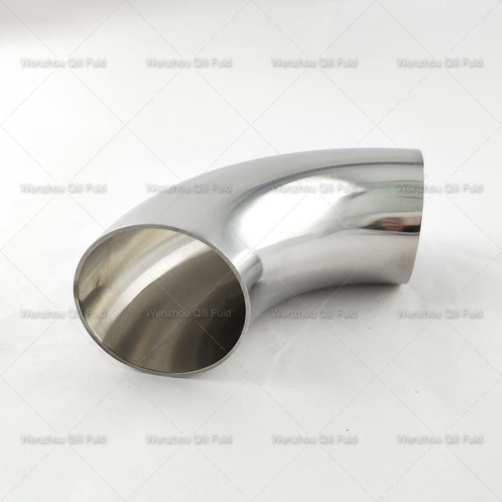 sanitary stainless steel 45degree elbow x8