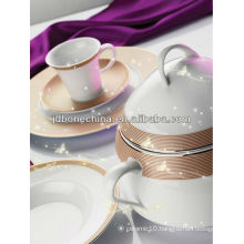 2014 new arrivals eco-friendly fine bone china dinnerware tableware