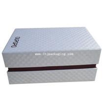 Black Foil Stamping Schuh Verpackung Papier Box