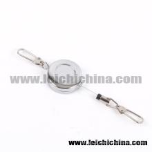 Zinger de aço inoxidável de venda quente da pesca com mosca do gancho do cabo de 60cm