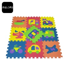 Tappetino per puzzle Kids Car Play di EVA Foam Playroom