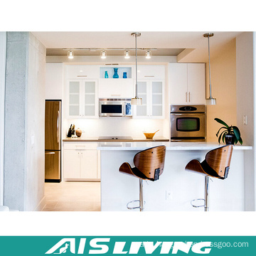 Plywood Kitchen Cabinet Lacquer Cupboard Furniture (AIS-K438)