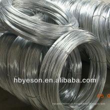 Hot dipped galvanized wire fabricante