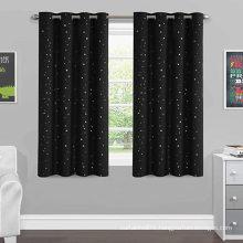 Blackout Sleep-Enhancing Winkle Printed Curtain Draperies