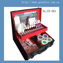 Multifuncional tatuaje profesional y permanente kit de herramientas de maquillaje (zx-081)