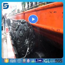 Fender flutuante marinho pneumático do barco de pesca