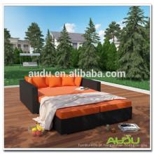 Audu Large Hotel ou Inn Wicker Rattan Day Bed