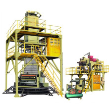 Modèle Sgj500-1500 POF Ligne de production de film à 3 couches de polyoléfine à chaud-rétrécissement