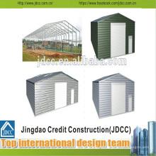 Garaje de estructura de acero de bajo costo