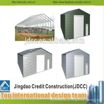 Garagem de estrutura de aço de baixo custo