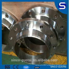 ANSI B16.5 stainless steel welded neck collar flange