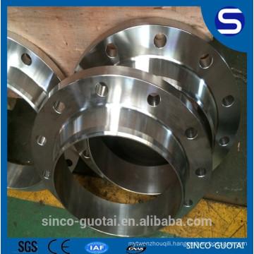 ANSI B16.5 stainless steel welded neck collar flange