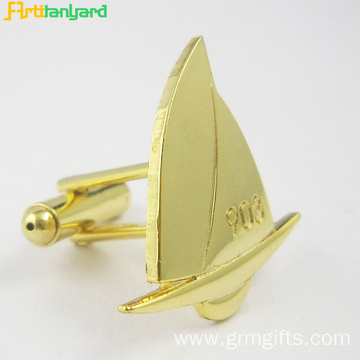 Luxury Metal Cufflink For Women With Gold Plating