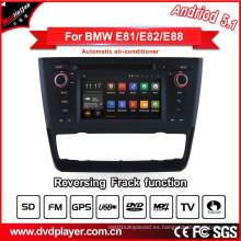DVD del coche del androide 5.1 de Hla 8820 para BMW 1 E81 E82 E88 Radio Navigatior Internet 3G o conexión de WiFi