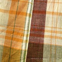 Tecido de algodão de linho para camisa (QF13-0496)