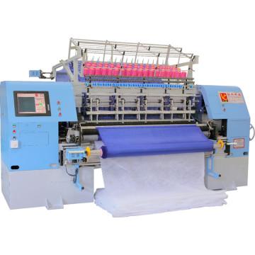 Máquina que acolcha multi-aguja del transbordador de alta velocidad para acolchar las prendas del edredón de la colcha