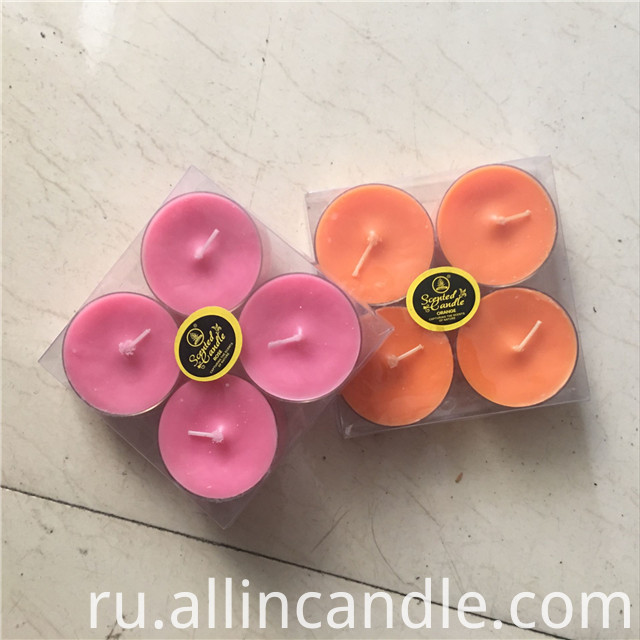 Colorful Tea Light Candle