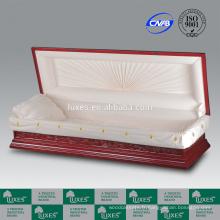 Sculpté à la main chinoise cercueil en ligne pour des Services funéraires