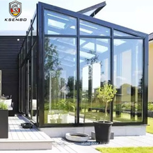Second Story Aluminum  Sun Rooms With Flat Roofs Portable Sun room