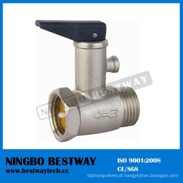 Válvula de alívio de segurança do aquecedor de água de latão (BW-R15)