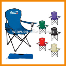 600D polyester traveling adult folding beach chair
