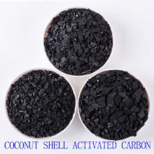 La purificación del agua utilizó el carbón de leña activado granular de la cáscara del coco para la venta