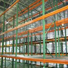 Metal Wire Mesh Warehouse Medium Duty Storage Rack