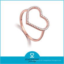 Nova jóia para dia dos namorados anel de moda zircão (r-0639)