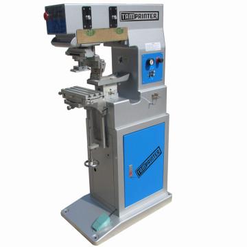 China Einzelfarbe Kunststoff Tampondruck Maschinenhersteller