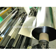 Bopp filme claro e metalizado 15micron, 20micron, 25micron, 30mircron