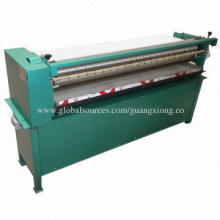 Cabinet-type gluing machine