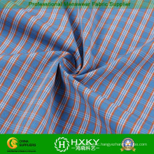 Gingham Polyester Fabric for Men′s Shirt or Lining