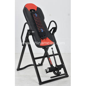 Deluxe inversion table with vibration massage & heat