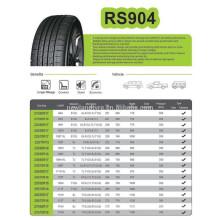 Boa qualidade e baixo preço pneu de carro de passageiros 4x4 pneus malásia