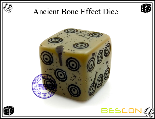 Ancient Bone Effect Dice