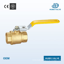 China 1/2′′-2′′inch Iron Handle High Quality Brass Ball Valve