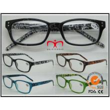 Lunettes de lecture de lunettes de thé de style Temple de couleur de style classique (MRP21651)