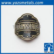 badge personnalisé pour moto