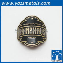 customized motorcycle badge