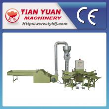 Máquina de Stuffer do descanso de fibra não tecida estável