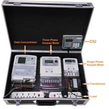 AMR System Fernbedienung und Prepaid Demonstrat Box