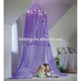 girls' court bed mosquito nets